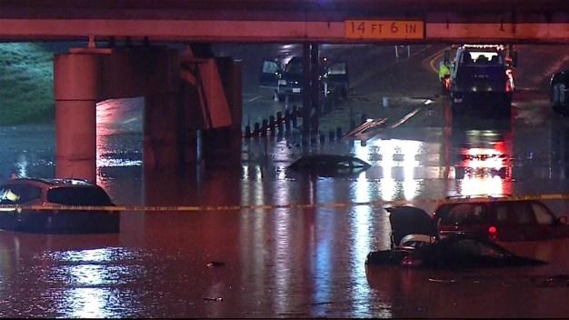 Record-Breaking Rain Floods North Texas