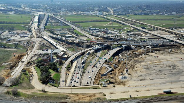 DNT and Multiple Lanes of I-30 and I-35 Undergoing Changes