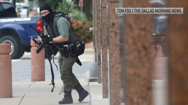 Active Shooter Dead After Exchange of Gunfire Downtown