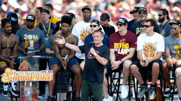 Put a Ring On It: Cavs' Arena Staff Get Championship Rings