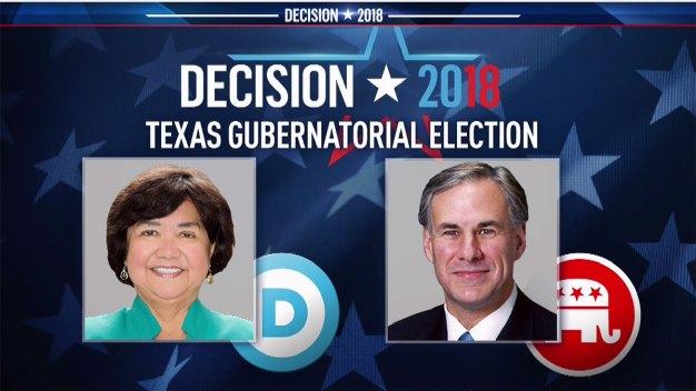 Abbott, Valdez at Odds in State's Only Gubernatorial Debate