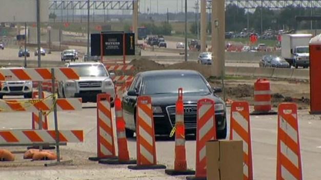 Construction Ramping Up on I-635, Texas 121 Interchange