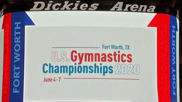 New Dickies Arena in FW to Host 2020 U.S. Gymnastics
