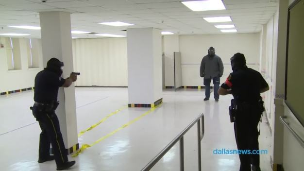 DPD Heads to City Hall to Save Training Center
