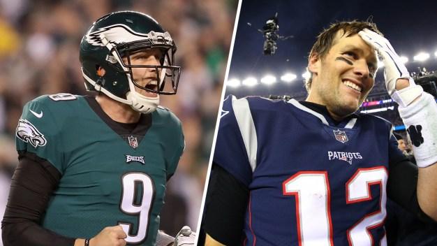 Patriots, Eagles Will Square Off in Super Bowl 52