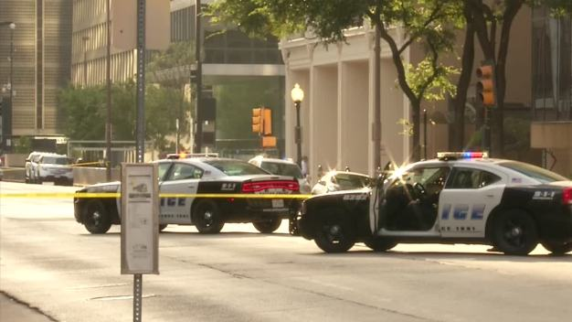 Officer Wounded in July 7 Ambush Sues Social Media Giants