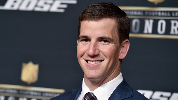 Eli Manning Explains His Viral Super Bowl Expression