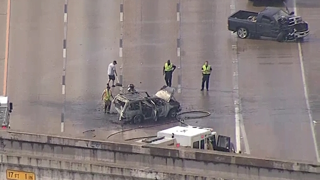 I-35W Reopened Due to Fiery Crash in Fort Worth: MedStar