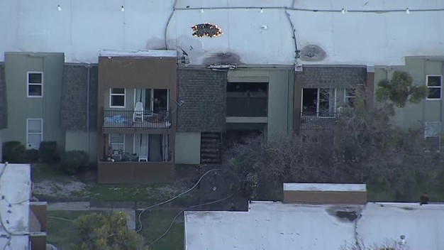 2-Alarm Apartment Fire in Mesquite Contained