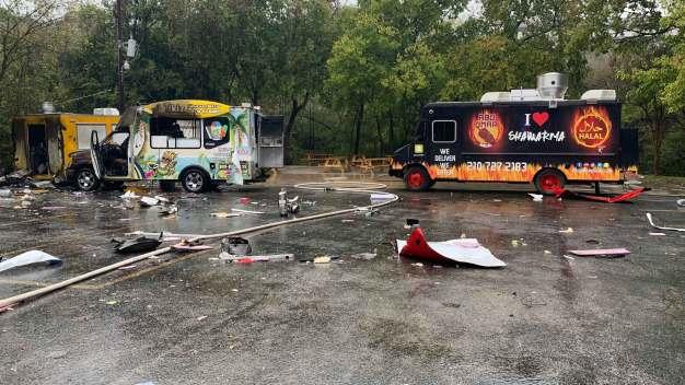 Food Truck Explodes Near Texas University Campus