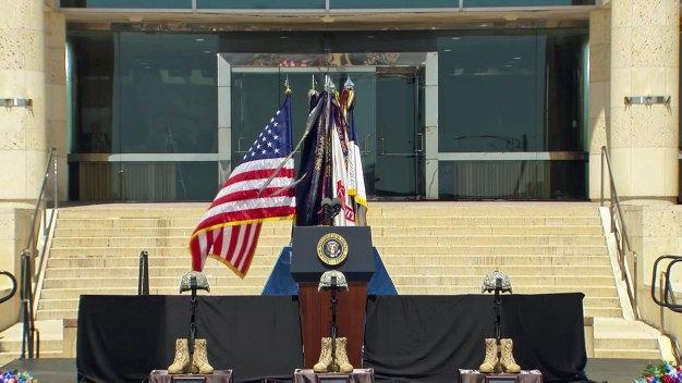 Fort Hood Memorial, April 9, 2014