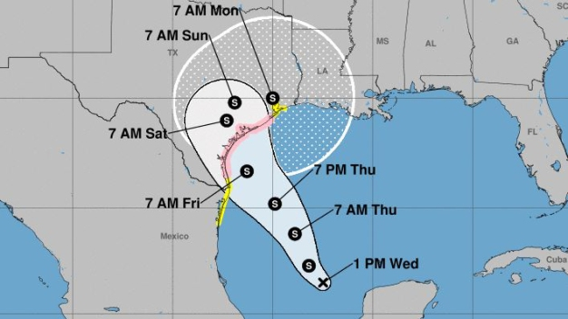 Tropical System Appears to Be Headed for Texas