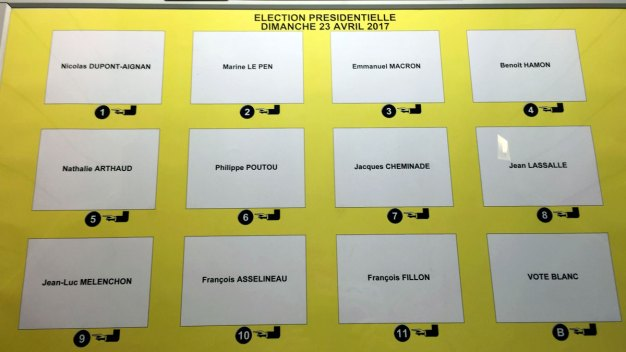 11 Vie for French Presidency in High-Stakes Race