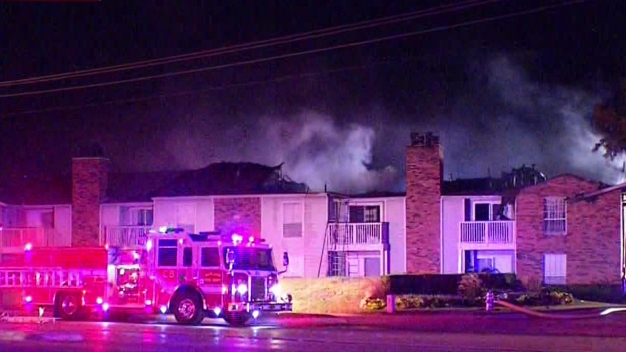Garland Apartment Fire Displaces 19