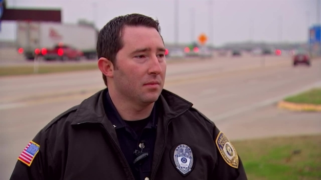Tornado Tested Garland Officer's Training