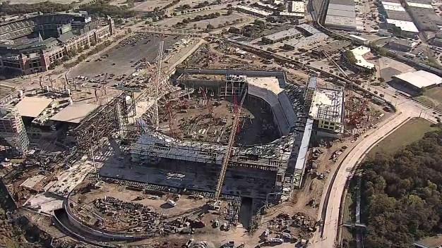 Construction Update: Globe Life Field Taking Shape