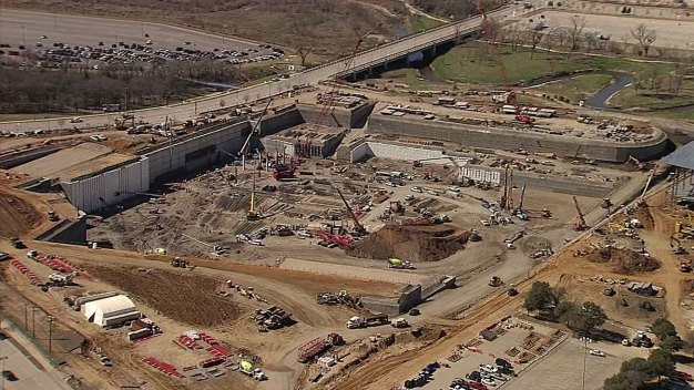 Massive Hole to Become Rangers New Ballpark