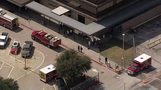 Hazmat Spill at Dallas USPS Bulk Mail Facility