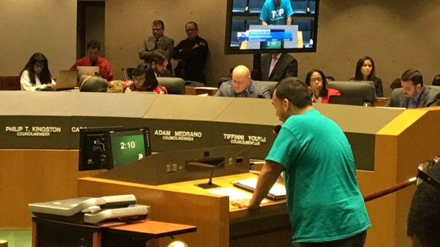 HMK Tenants Address Dallas City Council