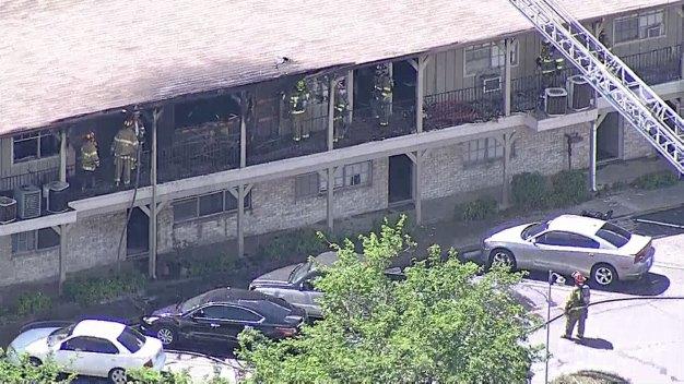 Dallas Fire Rescue Battles 2-Alarm Apartment Fire