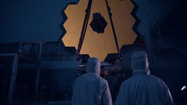 Rare Look at NASA's Largest Space Telescope