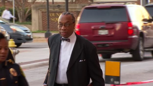 John Wiley Price, Associate Daphne Fain Enter Court Thursday (Raw Video)