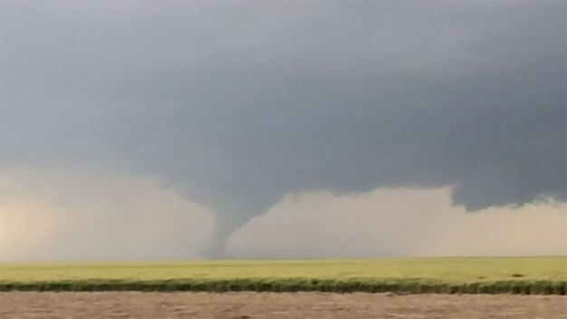 Tornado in Dodge City, Kansas