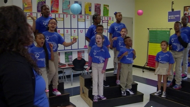 Dallas Students Sing to Celebrate Dr. Martin Luther King Jr.