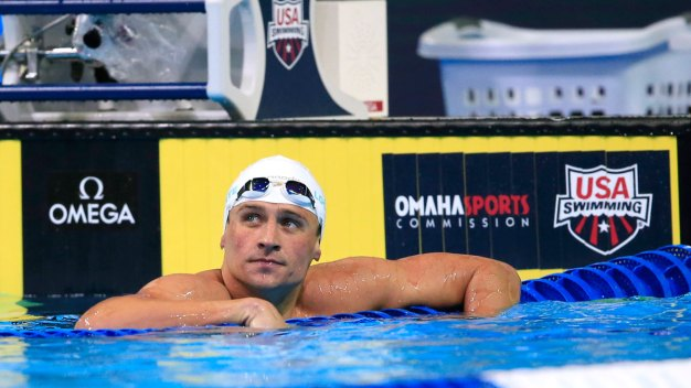 Olympic Swimming Trials: Lochte Makes 200 Free Semis