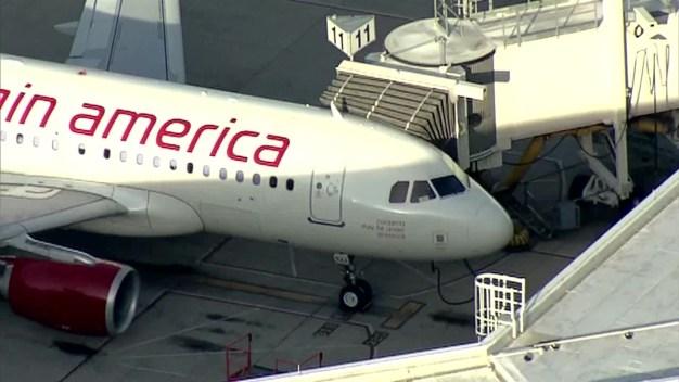Virgin America Flight Returns to Love Field After Bird Strike (Raw Video)