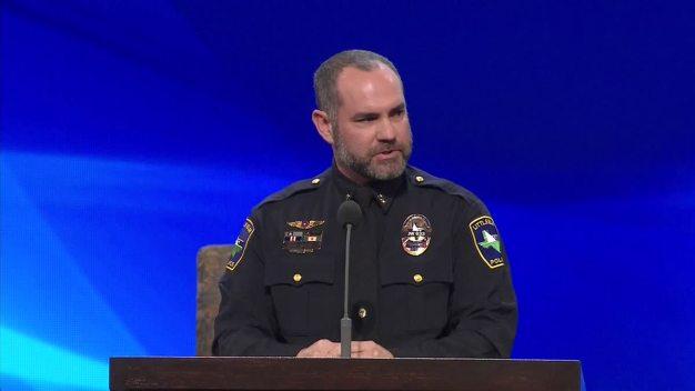 Little Elm Detective Jerry Walker Funeral: Lt. Brad Wilcox