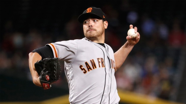 Rangers Acquire Pitcher Matt Moore From Giants