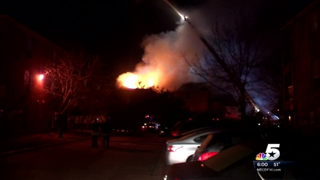 Eight Families Displaced by Las Colinas Apartment Fire