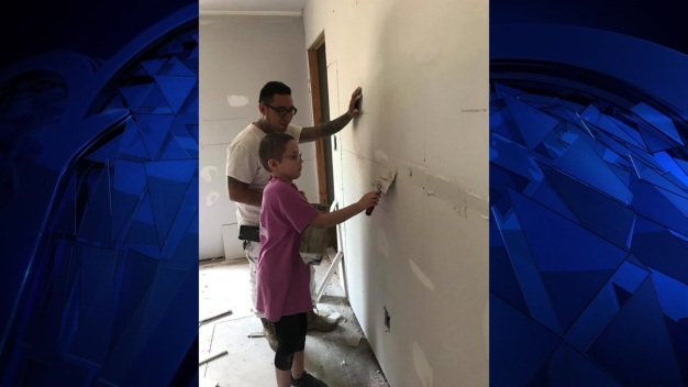 Volunteers Closer to Finishing Home of Girl With Cancer}