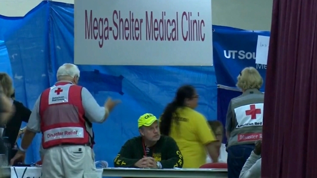 Harvey Evacuees to Be Moved from Dallas Mega Shelter
