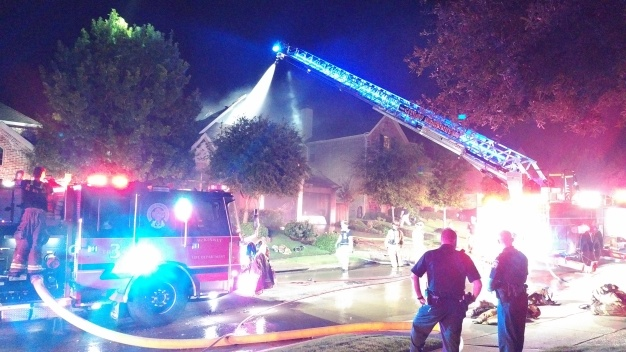 Fire Destroys McKinney Home Early Tuesday Morning