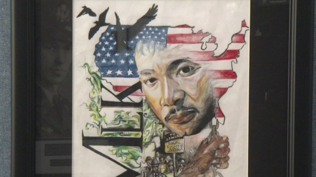 North Texas Students Use Art To Visualize MLK's Dream