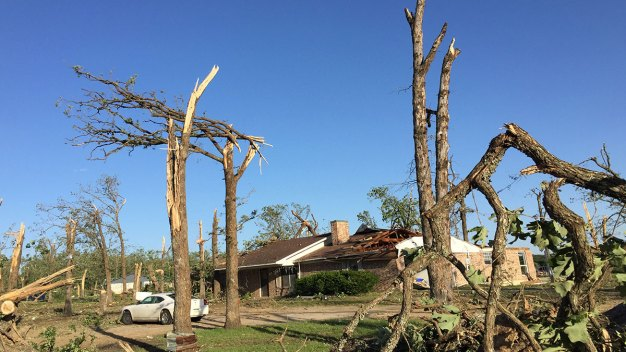 Dozens of Emory Area Homes, a Church Damaged or Destroyed in Tornado