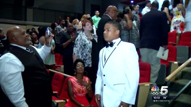 Youth Orator Graduates Top of Class from Dallas ISD