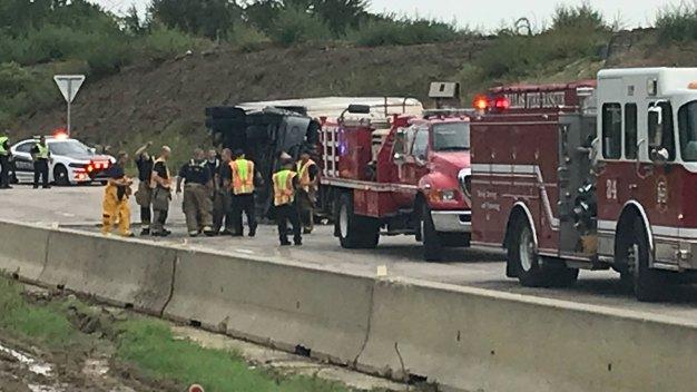 US Highway 175 Shut Down in Dallas
