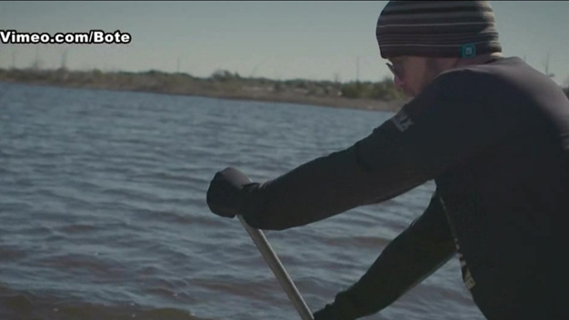 Veteran Paddleboards to New York to Raise PTSD Awareness