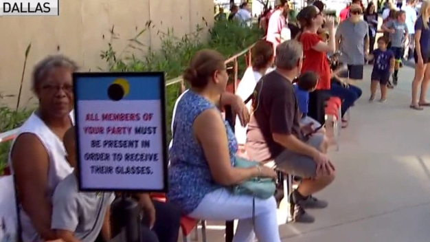 Perot Museum Hosts Solar Eclipse Party
