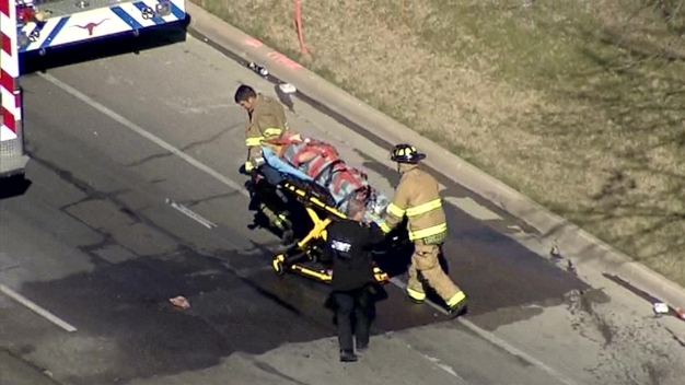 Several Injured in Tarrant County Sheriff's Transport Van Crash