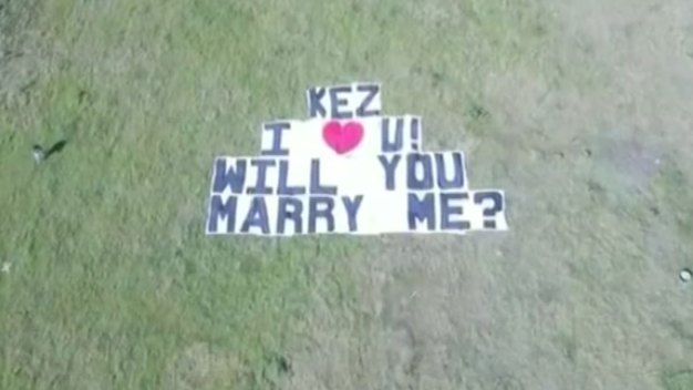 North Texan Man Takes Proposal to New Heights