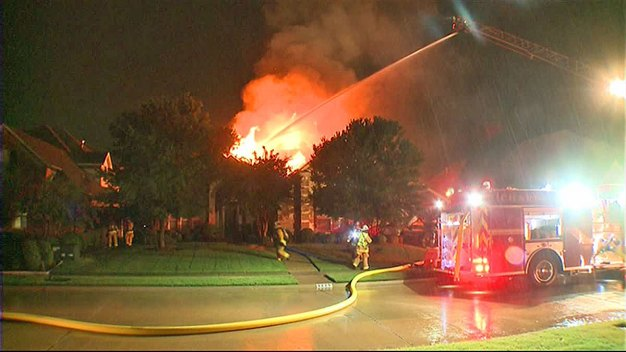 Lightning Suspected in Early-Morning House Fire