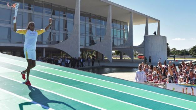 Rio de Janeiro Olympic Torch Relay Kicks Off