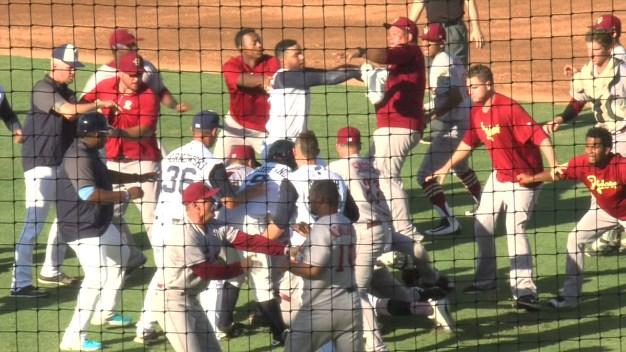 Brawl Erupts Between Rangers', Astros' Minor League Teams