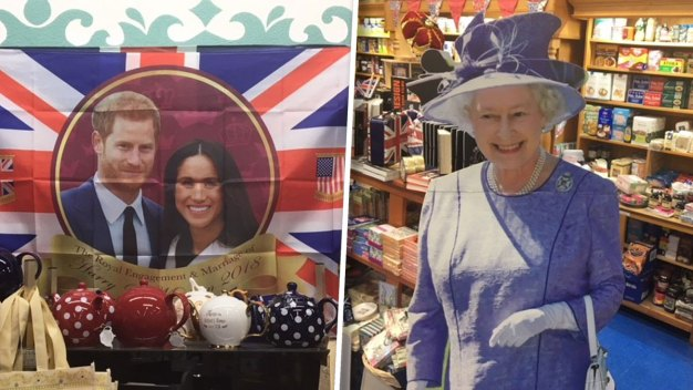 Grapevine British Emporium Pumped for Royal Wedding