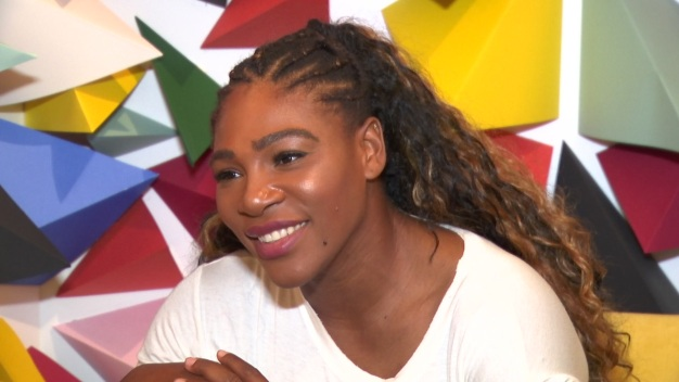Serena Williams Launches New Collection at Legacy West Shop
