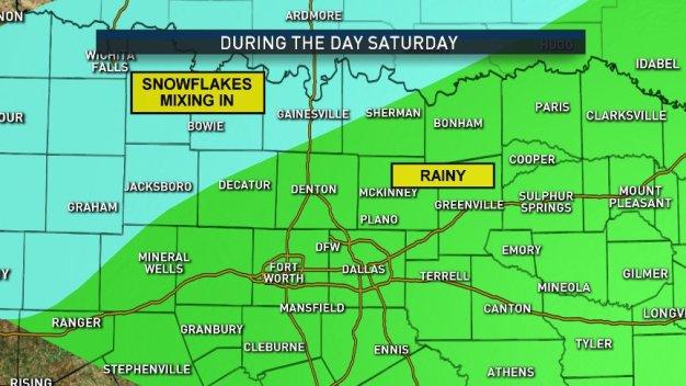 Widespread Rain Coming to DFW Saturday